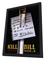 Kill Bill, Vol 2 - 11 x 17 Movie Poster - Style A - in Deluxe Wood Frame