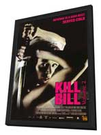 Kill Bill, Vol 2 - 27 x 40 Movie Poster - Style D - in Deluxe Wood Frame