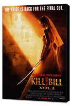 Kill Bill, Vol 2 - 27 x 40 Movie Poster - Style B - Museum Wrapped Canvas