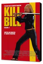 Kill Bill, Vol 2 - 27 x 40 Movie Poster - Style C - Museum Wrapped Canvas