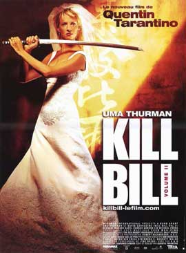 Kill Bill, Vol 2 - 11 x 17 Movie Poster - French Style A