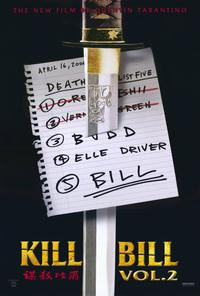 Kill Bill, Vol 2 - 27 x 40 Movie Poster - Style A