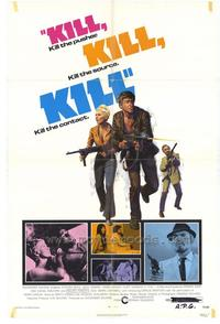 Kill Kill Kill Kill - 27 x 40 Movie Poster - Style A