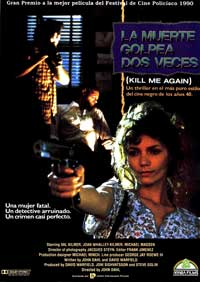 Kill Me Again - 27 x 40 Movie Poster - Spanish Style A