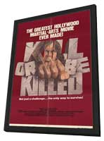 Kill or Be Killed - 11 x 17 Movie Poster - Style A - in Deluxe Wood Frame