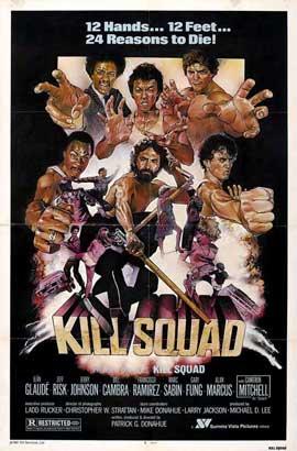 Kill Squad - 27 x 40 Movie Poster - Style B
