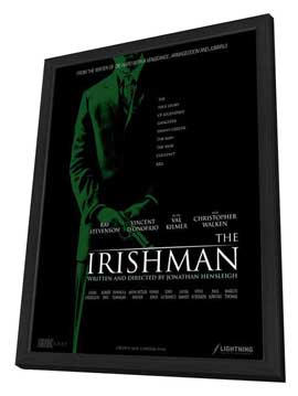 Kill the Irishman - 27 x 40 Movie Poster - Style B - in Deluxe Wood Frame