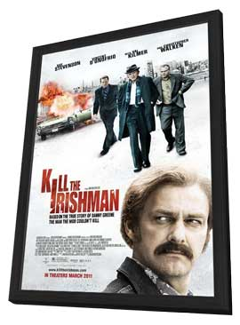Kill the Irishman - 11 x 17 Movie Poster - Style A - in Deluxe Wood Frame