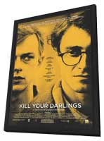 Kill Your Darlings - 27 x 40 Movie Poster - Canadian Style A - in Deluxe Wood Frame
