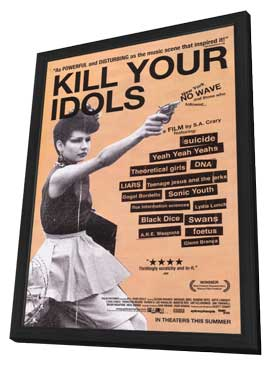 Kill Your Idols - 11 x 17 Movie Poster - Style A - in Deluxe Wood Frame