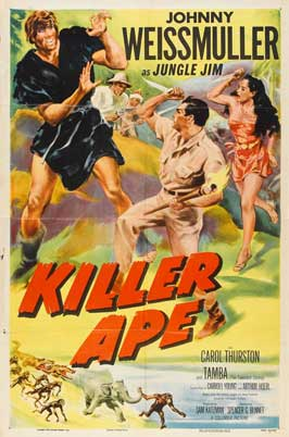 Killer Ape - 11 x 17 Movie Poster - Style A