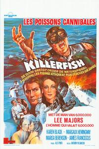 Killer Fish - 11 x 17 Movie Poster - Belgian Style A