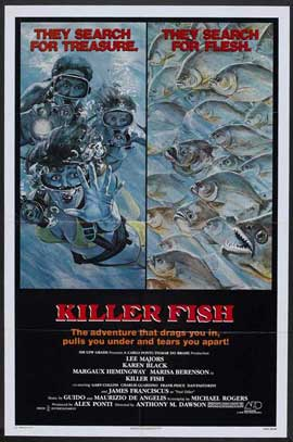 Killer Fish - 27 x 40 Movie Poster - Style A