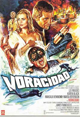 Killer Fish - 11 x 17 Movie Poster - Spanish Style A