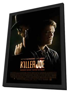 Killer Joe - 27 x 40 Movie Poster - Style A - in Deluxe Wood Frame
