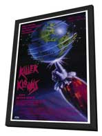 Killer Klowns from Outer Space - 11 x 17 Movie Poster - Style A - in Deluxe Wood Frame