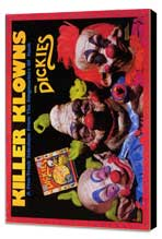 Killer Klowns from Outer Space - 11 x 17 Movie Poster - Style B - Museum Wrapped Canvas