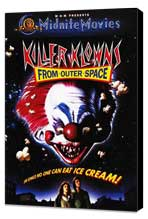 Killer Klowns from Outer Space - 27 x 40 Movie Poster - Style C - Museum Wrapped Canvas
