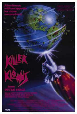 Killer Klowns from Outer Space - 27 x 40 Movie Poster
