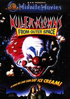 Killer Klowns from Outer Space - 27 x 40 Movie Poster - Style C