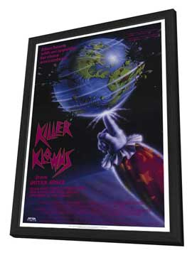 Killer Klowns from Outer Space - 27 x 40 Movie Poster - Style A - in Deluxe Wood Frame