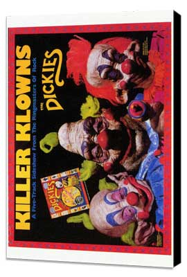 Killer Klowns from Outer Space - 27 x 40 Movie Poster - Style B - Museum Wrapped Canvas