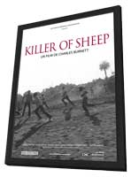 Killer of Sheep - 11 x 17 Movie Poster - French Style A - in Deluxe Wood Frame