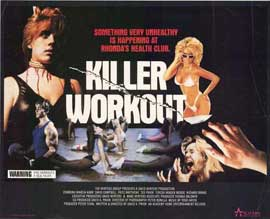 Killer Workout - 27 x 40 Movie Poster - Style A