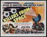 Killers from Space - 30 x 40 Movie Poster UK - Style A