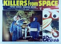 Killers from Space - 11 x 14 Movie Poster - Style B