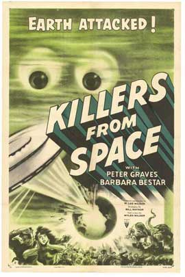 Killers from Space - 11 x 17 Movie Poster - Style A