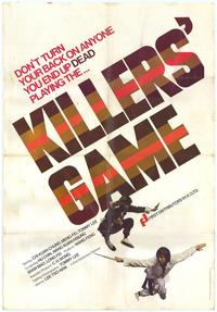 Killer's Game - 11 x 17 Movie Poster - Style A