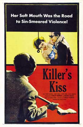 Killers Kiss - 11 x 17 Movie Poster - Style B