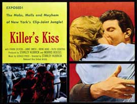 Killers Kiss - 27 x 40 Movie Poster - Style A