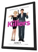 Killers - 27 x 40 Movie Poster - Style C - in Deluxe Wood Frame