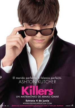 Killers - 27 x 40 Movie Poster - Belgian Style B