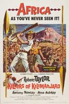 Killers of Kilimanjaro - 11 x 17 Movie Poster - Style C