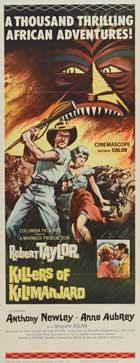 Killers of Kilimanjaro - 14 x 36 Movie Poster - Insert Style A