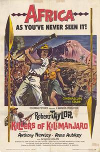 Killers of Kilimanjaro - 27 x 40 Movie Poster - Style A
