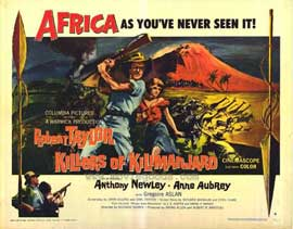 Killers of Kilimanjaro - 22 x 28 Movie Poster - Half Sheet Style A