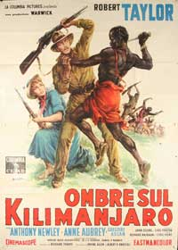 Killers of Kilimanjaro - 11 x 17 Movie Poster - Italian Style A