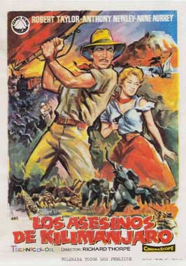 Killers of Kilimanjaro - 27 x 40 Movie Poster - Spanish Style A