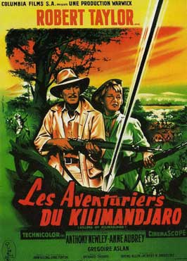 Killers of Kilimanjaro - 27 x 40 Movie Poster - French Style A