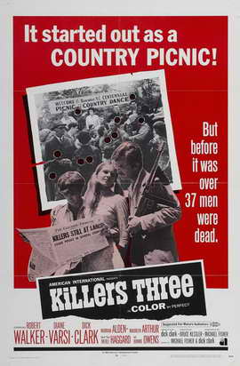 Killers Three - 27 x 40 Movie Poster - Style A