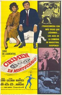 Killing in Monte Carlo - 11 x 17 Movie Poster - Spanish Style A