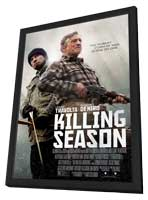 Killing Season - 11 x 17 Movie Poster - Style A - in Deluxe Wood Frame