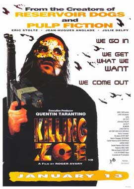 Killing Zoe - 11 x 17 Movie Poster - Style B