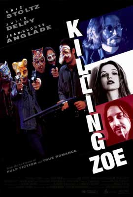Killing Zoe - 27 x 40 Movie Poster - Style A