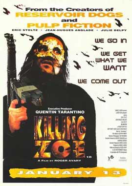 Killing Zoe - 27 x 40 Movie Poster - Style B
