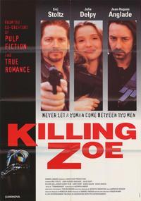 Killing Zoe - 27 x 40 Movie Poster - Style C
